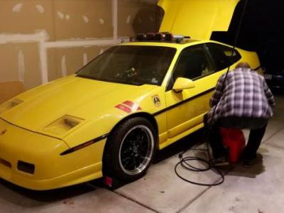 A Michigan Man is Fixing His Late Father's Highly-Modified Pontiac Fiero and I'm Going to Help Him