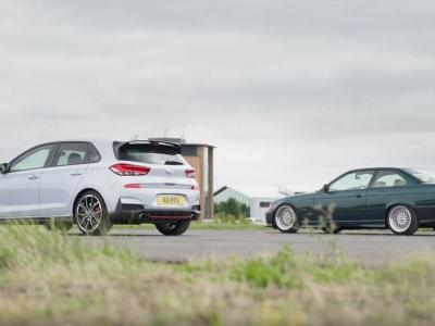 Can A Lightly Tweaked E36 BMW 328i Out-Drag A Hyundai i30 N?