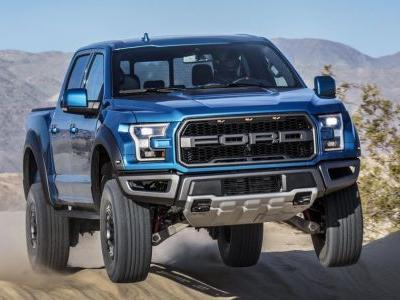 The Ford F-150 Raptor Will Use Adaptive Dampers To Make Better Landings