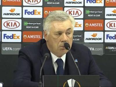 Napoli competed well in Europe, insists Ancelotti