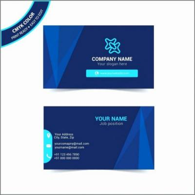 30 Lovely Folding Name Card Template Pics