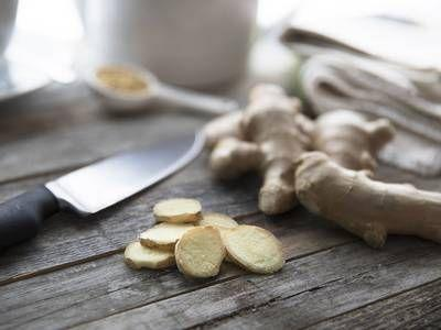 How to prep and store fresh ginger root