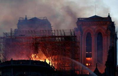 Notre Dame blaze tragedy for all Christians - Russian Orthodox Church