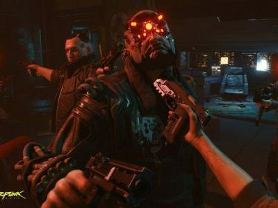 Cyberpunk 2077 features dynamic weather and acid rain