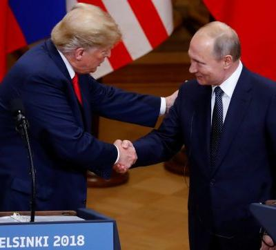 Russian media finds Putin all powerful and Trump pitiful after the summit