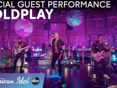 "Watch Coldplay Perform ""Higher Power"" On American Idol's Coldplay-Themed Episode"