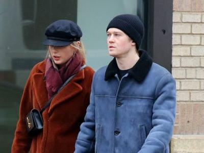 Taylor Swift and Her BF Joe Alwyn Show Rare PDA After Skipping Grammys for BAFTAs