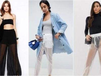 Bizarre fashion alert. Will you pay Rs 4000 for these totally transparent pants?