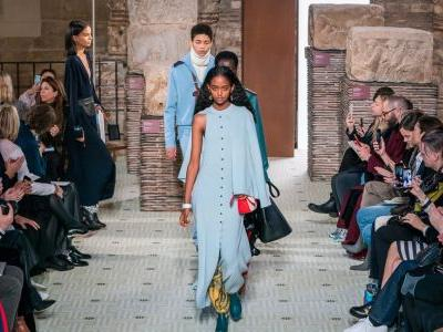 Bruno Sialelli Makes His Runway Debut With Lanvin's Fall 2019 Collection