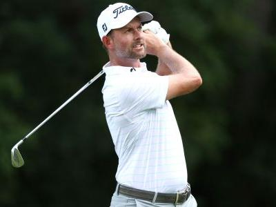 Webb Simpson in share of lead at Rocket Mortgage Classic