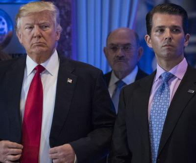 Trump Jr. says father trusts few people after anonymous op-ed
