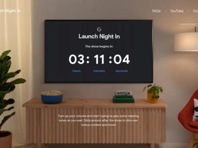 Become a jazz pianist with Google's Launch Night In webpage