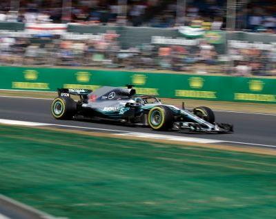 Lewis Hamilton back on top in final practice at British GP