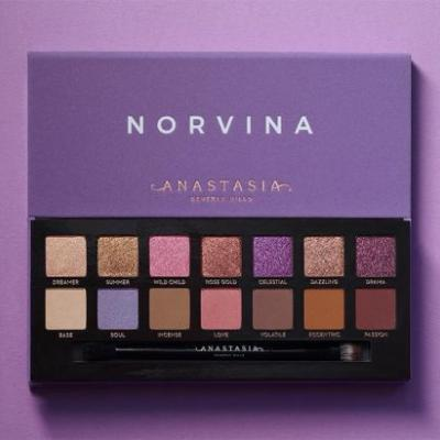 Anastasia x Norvina Eyeshadow Palette for July 2018
