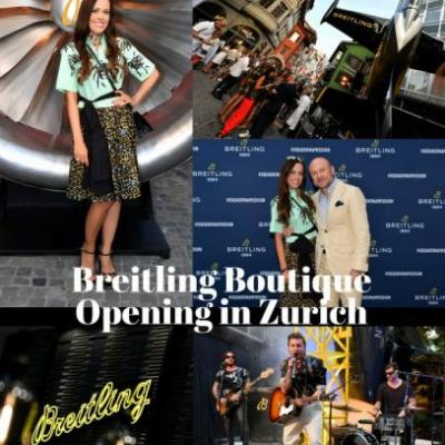Breitling Boutique Opening in Zurich