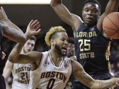 Boston College beats No. 11 Florida State 87-82