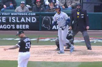 WATCH: Carlos Gomez knew he got all of this one
