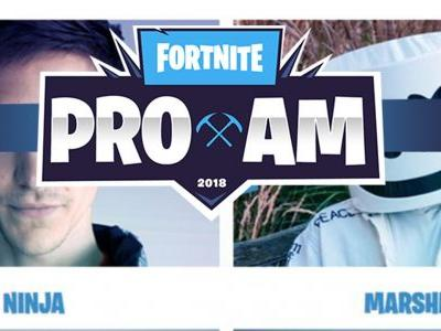 E3 this year will feature a 'Fortnite Pro-Am' celebrity tournament for 3 million towards charity
