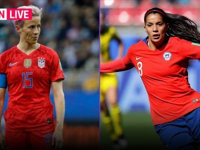 USWNT vs. Chile: Live score, updates, highlights from USA's World Cup match