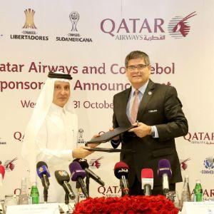 Qatar Airways Named Official Global Airline Partner Of CONMEBOL Football Competitions