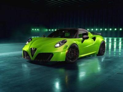 Pogea Racing's Alfa Romeo 4C Adds British Royalty To Italian Magic