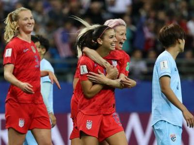 'Disgusted and embarrassed': USWNT slammed for celebrations in record-breaking World Cup win