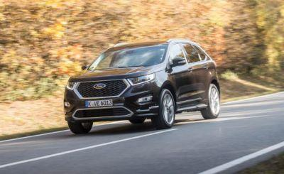 2017 Ford Edge Vignale First Drive: Blueblood Wearing a Blue Oval