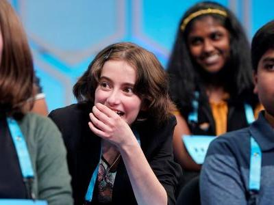 In an unprecedented move, 8 were named Scripps National Spelling Bee co-champions after a final round that failed to stump half of the finalists