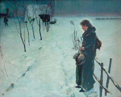 'Christmas Eve' by Fritz von Uhde