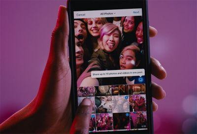 Instagram will finally let you share multiple photos and videos in one post