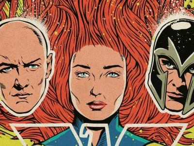 Dark Phoenix Gets X-Men Comics-Inspired Poster For CCXP