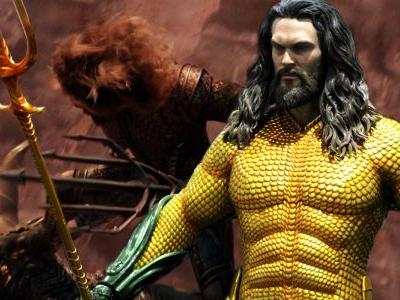 Aquaman Movie Book Offers New Look at Classic Suit
