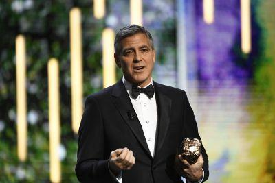 """George Clooney Encourages Us """"Not to Let Hate Win"""" in His Anti-Trump Césars Speech"""
