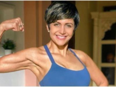 Mandira Bedi says keep yourself active in new home-workout post. Read here