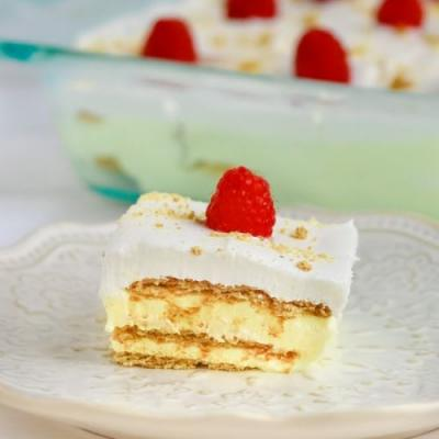 Lemon Icebox Cake