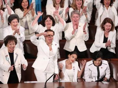 The most powerful moment at the State of the Union was a win for Democrats, that Trump had no control over