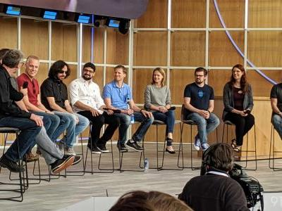 Android Fireside Chat at I/O 2019: Future of Wear OS, Fuchsia, and Foldables