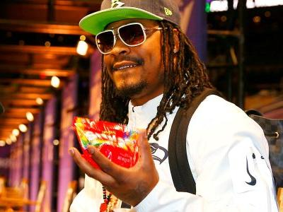 Marshawn Lynch's ManningCast interview had a little Hennessy, Skittles, and one big F-bomb