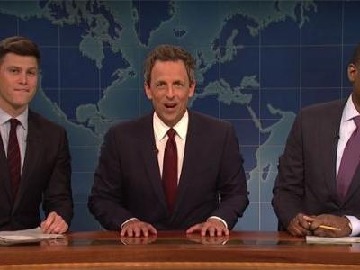 Watch Seth Meyers Bring Back 'Really!?!' On SNL's Weekend Update