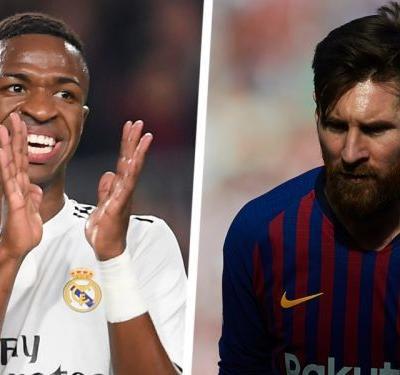 Messi doesn't scare Real Madrid, we have the world's best! - Vinicius