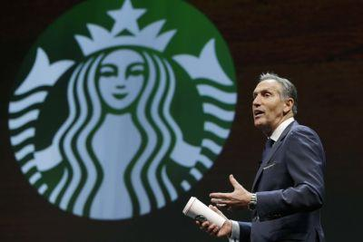 Starbucks' Howard Schultz stepping down as CEO