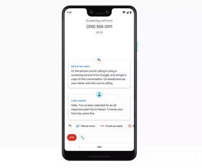Google's Pixel Call Screen feature has arrived in Canada as a beta
