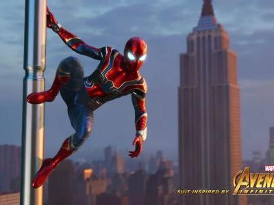 Spider-man gets a pre-order 'Iron Spider Suit' and 'Spidey Suit Pack'