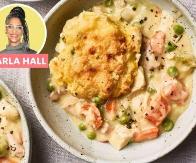 Carla Hall's Chicken Pot Pie Has a Soulful, Satisfying Upgrade