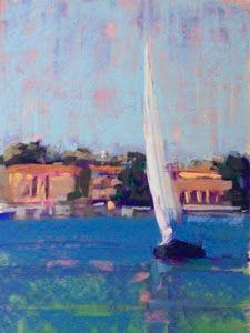Demo and Workshop for Pastel Society of Southern California