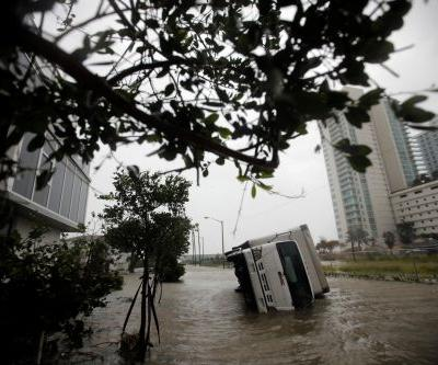 Extent of damage unknown as milder - but still massive - Hurricane Irma hammers Tampa Bay