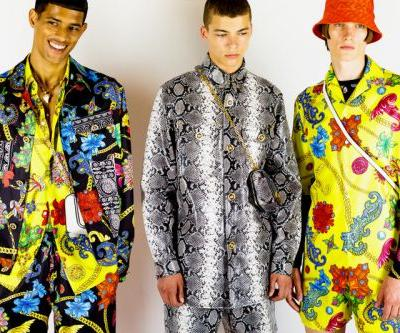 Versace Brought The Rave to Menswear for SS19