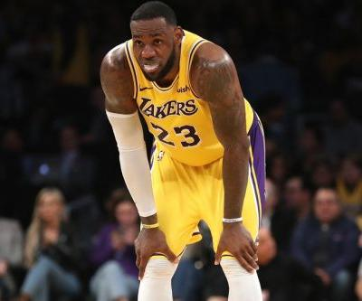 LeBron James Bows out of Remaining Games Due to Injury