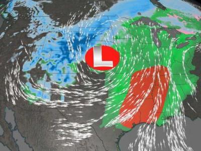 70 million in path of 'bomb cyclone' striking central US, bringing snow, hail and rain