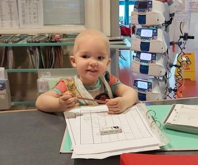 Two-year-old girl diagnosed with cancerous tumour in lockdown